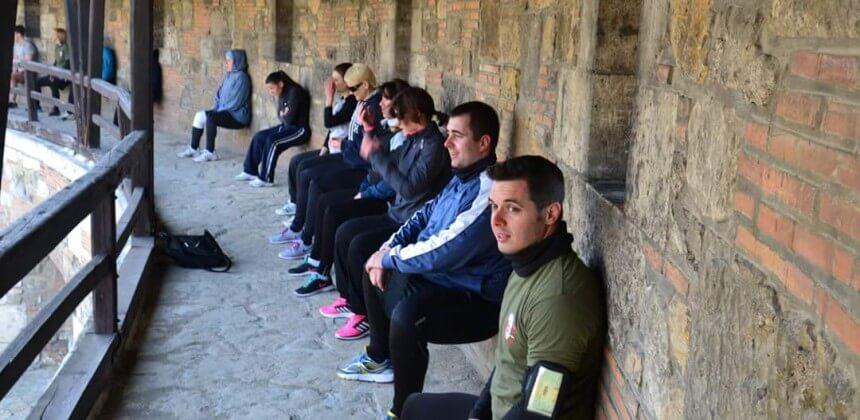 Boot Camp a Budai várban, a Tabánnál és a Szent István Parkban a Boot Up Networkkel